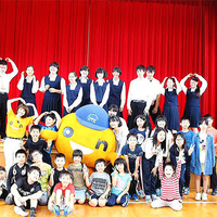 「音育教室」 おはなし隊&笑顔のコーチング 千歳市立東小学校・中学校