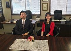 「ジョイフルエーケー」の木村勇介代表取締役社長