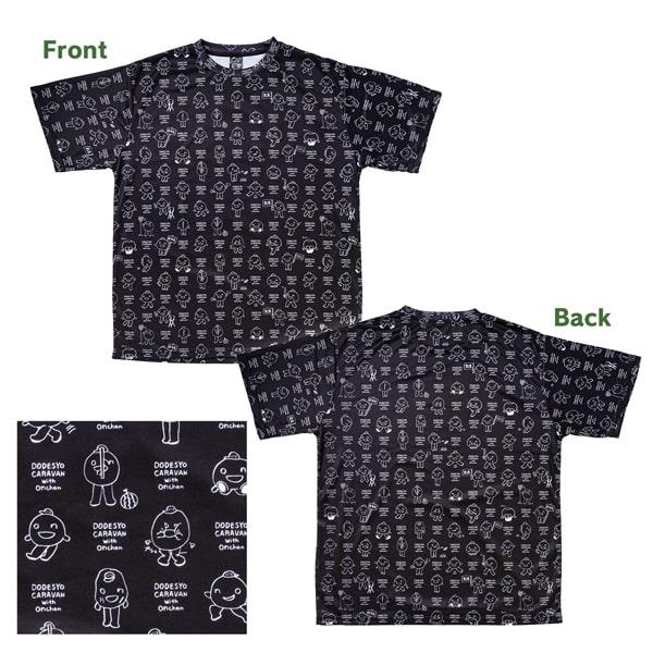 どうでしょうキャラバン with onchan Tシャツ「黒」