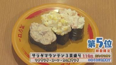 人気回転寿司スシロー 秋のおすすめランキング