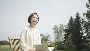 2012/04/18掲載 「記念写真」 浦山初子(71歳・主婦)=十勝管内新得町