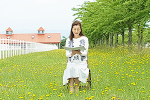 2016/04/18 (月)掲載「うれしい朝 」 久保祥子(くぼ・さちこ 40歳・主婦)=札幌市中央区