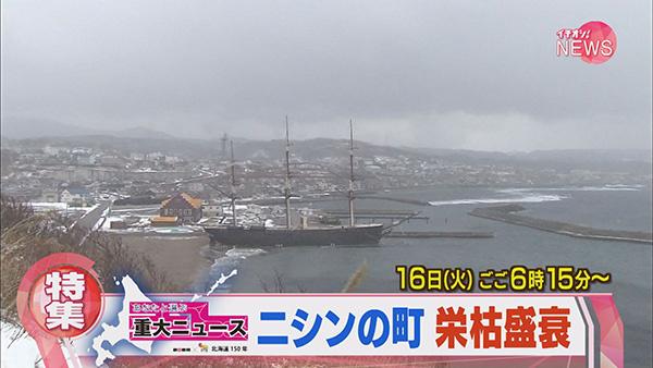 北海道150年<br>ニシンと北海道 江差の春は江戸にもない・・